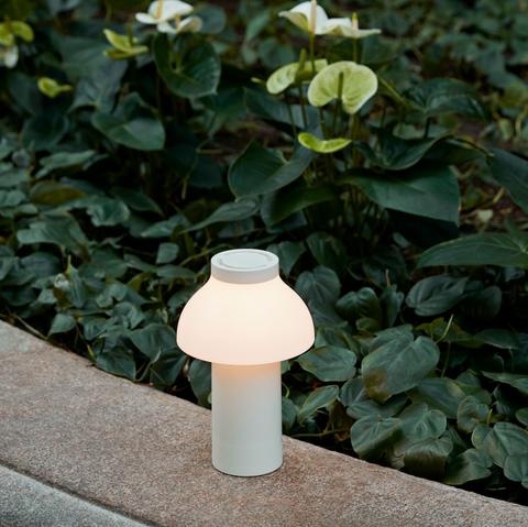 Bilde av PC oppladbar lampe Hvit  HAY