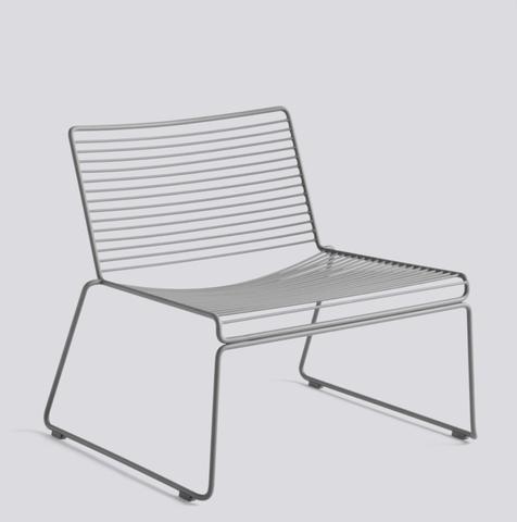 Bilde av Hee Lounge Chair HAY Asphalt